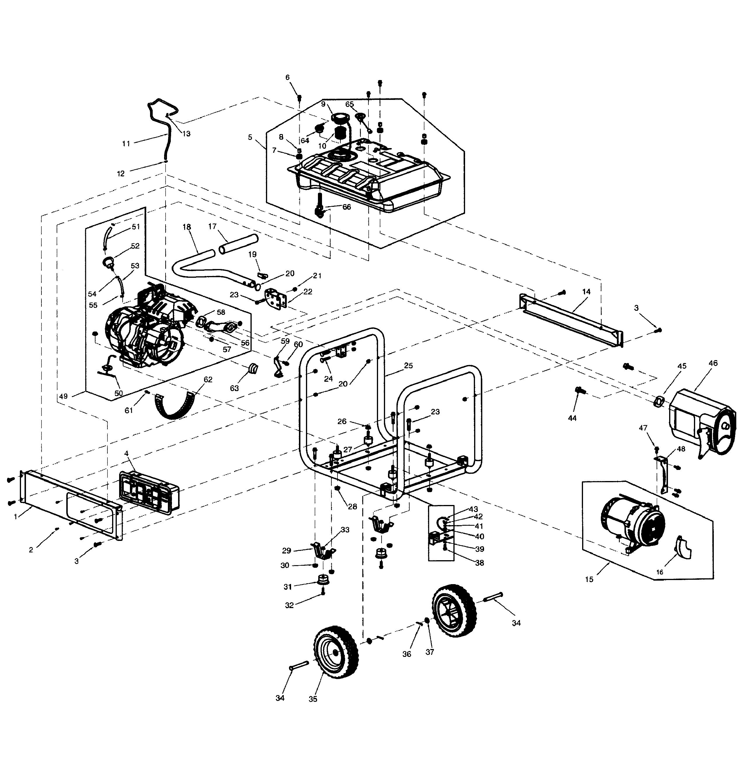 [WRG-1635] Generac 4000 Wiring Schematic