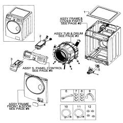 Front Load Washer Parts Diagram Club Car Precedent Horn Wiring Samsung Model Wf218anwxaa0000 Sears