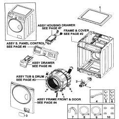 Frigidaire Front Load Washer Parts Diagram Thermostat X2 Wire Samsung Model Wf219anwxaa0000 Sears