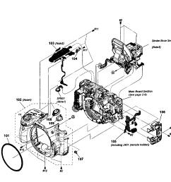 sony model slt a35 cameras all genuine parts [ 2546 x 2493 Pixel ]