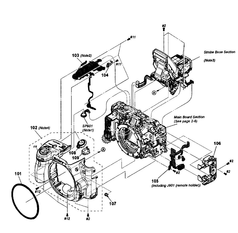 medium resolution of sony model slt a35 cameras all genuine parts