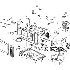 Ge Microwave Oven Wiring Diagram 1978 Honda Cb400 Panasonic Parts Great Installation Of Model Nn Sn960s Countertop Genuine Rh Searspartsdirect Com