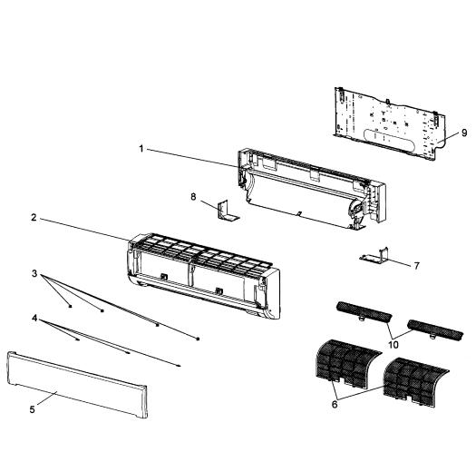 mitsubishi parts diagram