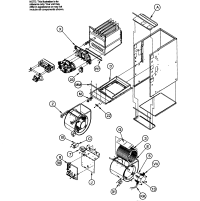 ICP GAS FURNACE Parts | Model f9mxt0801716a1 | Sears ...