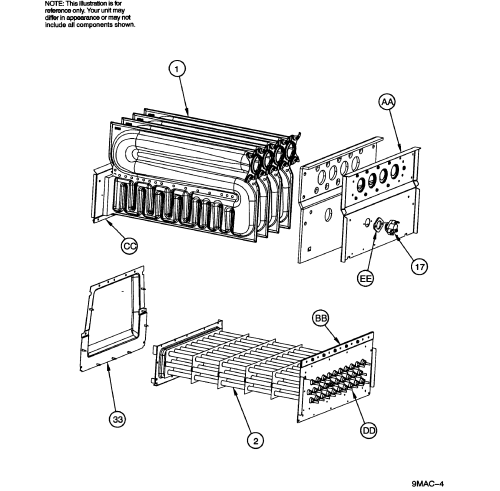 small resolution of icp g9mxe0801716a1 heat exchanger diagram
