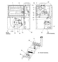 gas furnace [ 2549 x 2701 Pixel ]