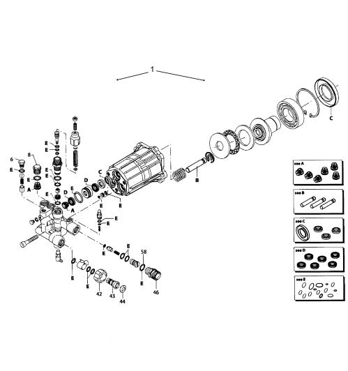 small resolution of generac 006412 0 pump assy diagram