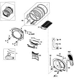 samsung dv520aep xaa 01 drum assy diagram [ 2547 x 2748 Pixel ]