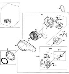 samsung dv520aep xaa 01 motor assy diagram [ 2548 x 2624 Pixel ]