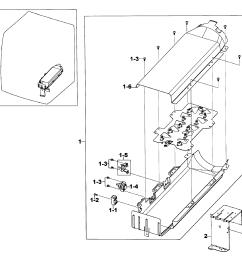 samsung dv520aep xaa 01 heater assy diagram [ 2545 x 2491 Pixel ]