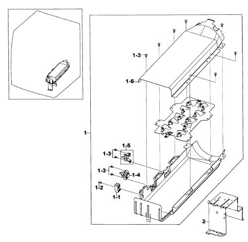small resolution of samsung dv520aep xaa 01 heater assy diagram