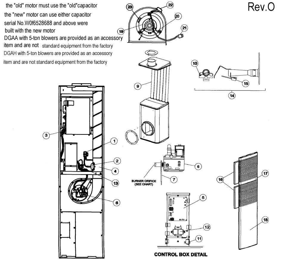 medium resolution of coleman dgaa077bdtb furnace assy diagram