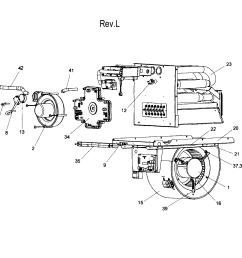 coleman furnace part diagram [ 2544 x 2527 Pixel ]