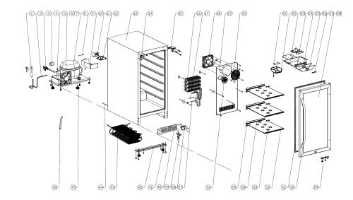 small resolution of edgestar wiring diagram edgestar model cbr901sg coolers genuine parts rh searspartsdirect com