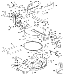 looking for dewalt model dw715 type1 miter saw repair replacement parts  [ 2541 x 2842 Pixel ]