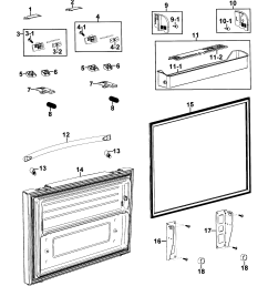 samsung model rf267aers xaa 0000 bottom mount refrigerator genuine parts samsung refrigerator wiring diagram samsung refrigerator [ 2545 x 2809 Pixel ]
