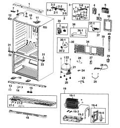 samsung model rf4287hars xaa 0000 bottom mount refrigerator genuine samsung refrigerator rfg298hdrs diagrams samsung model rf4287hars [ 2545 x 2771 Pixel ]