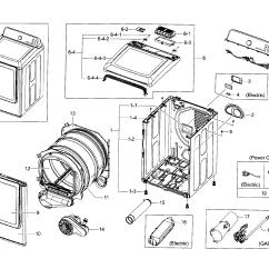 Samsung Electric Dryer Wiring Diagram Ford 4 0 Sohc Engine Parts Model Dv45h7000ewa20000 Sears