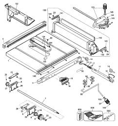 looking for dewalt model dw744 type 3 table saw repair u0026 replacementdewalt dw744 type 3 [ 2541 x 2870 Pixel ]