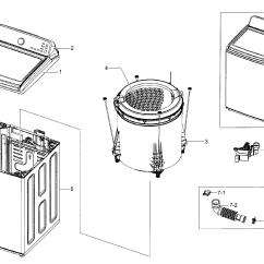 Front Load Washer Parts Diagram Lenco Trim Tabs Wiring Samsung Model Wa45h7000awa20000 Sears