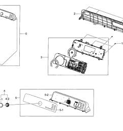 samsung model dv48h7400ew a2 00 residential dryer genuine parts rh searspartsdirect com samsung refrigerator wiring diagram [ 2549 x 1869 Pixel ]