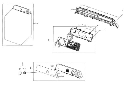 small resolution of samsung model dv48h7400ew a2 00 residential dryer genuine parts rh searspartsdirect com samsung refrigerator wiring diagram