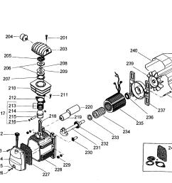 dewalt d55154 type 1 compressor assy diagram [ 2558 x 2005 Pixel ]