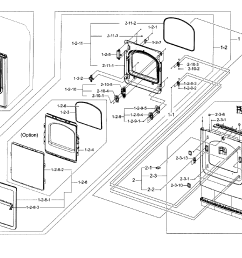 samsung dryer front loader wiring diagrams [ 2548 x 2065 Pixel ]