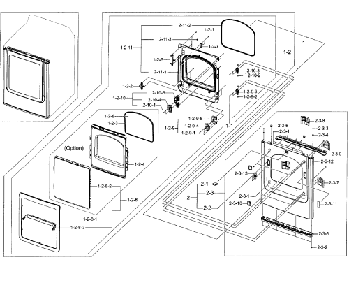 small resolution of samsung dryer front loader wiring diagrams