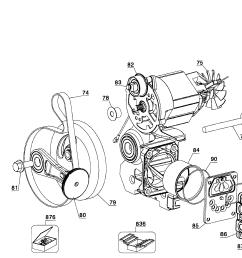 dewalt d55168 type 6 motor assy diagram [ 2578 x 1887 Pixel ]