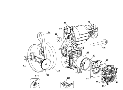 small resolution of dewalt d55168 type 6 motor assy diagram