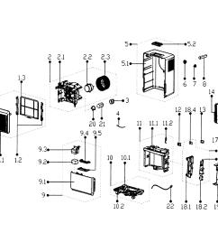 service manual edgestar model dep301ew dehumidifier genuine parts rh searspartsdirect com [ 2626 x 2023 Pixel ]