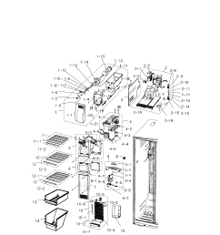 for samsung refrigerator rs2530bbp wiring diagram wiring library [ 2547 x 2513 Pixel ]