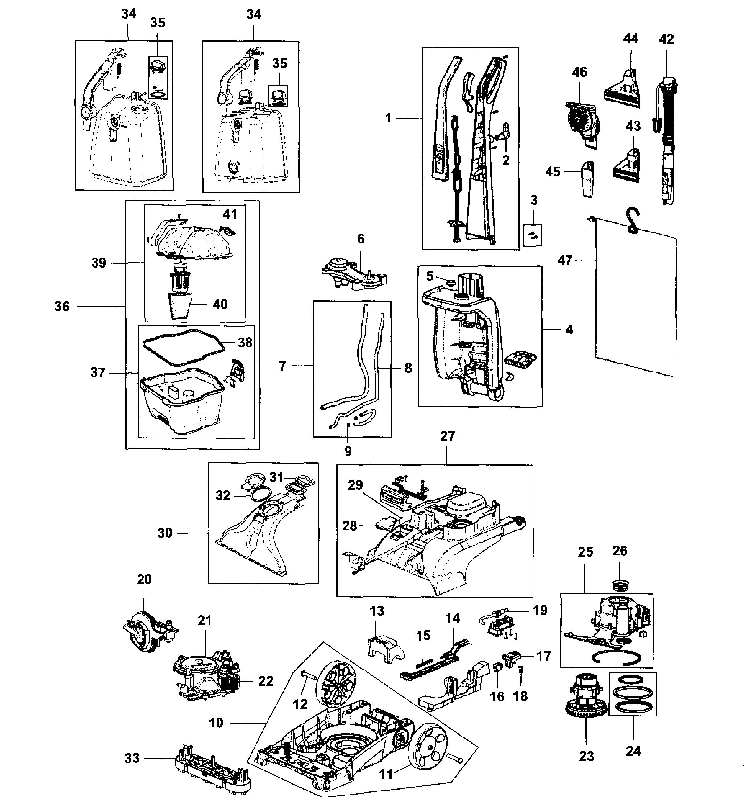 How to clean hoover steamvac spinscrub