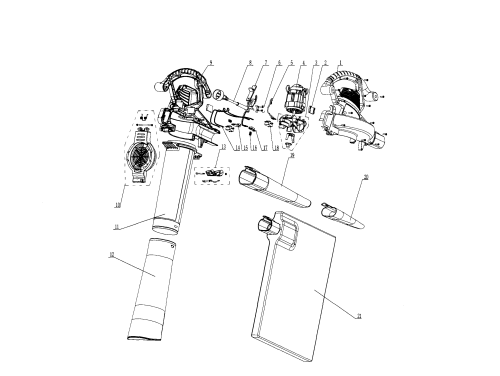 small resolution of craftsman 15130376 main assy diagram