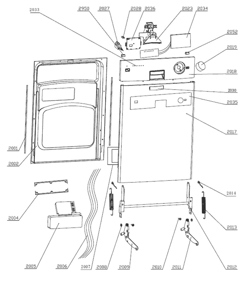 medium resolution of edgestar bidw18ss 1 door assy diagram