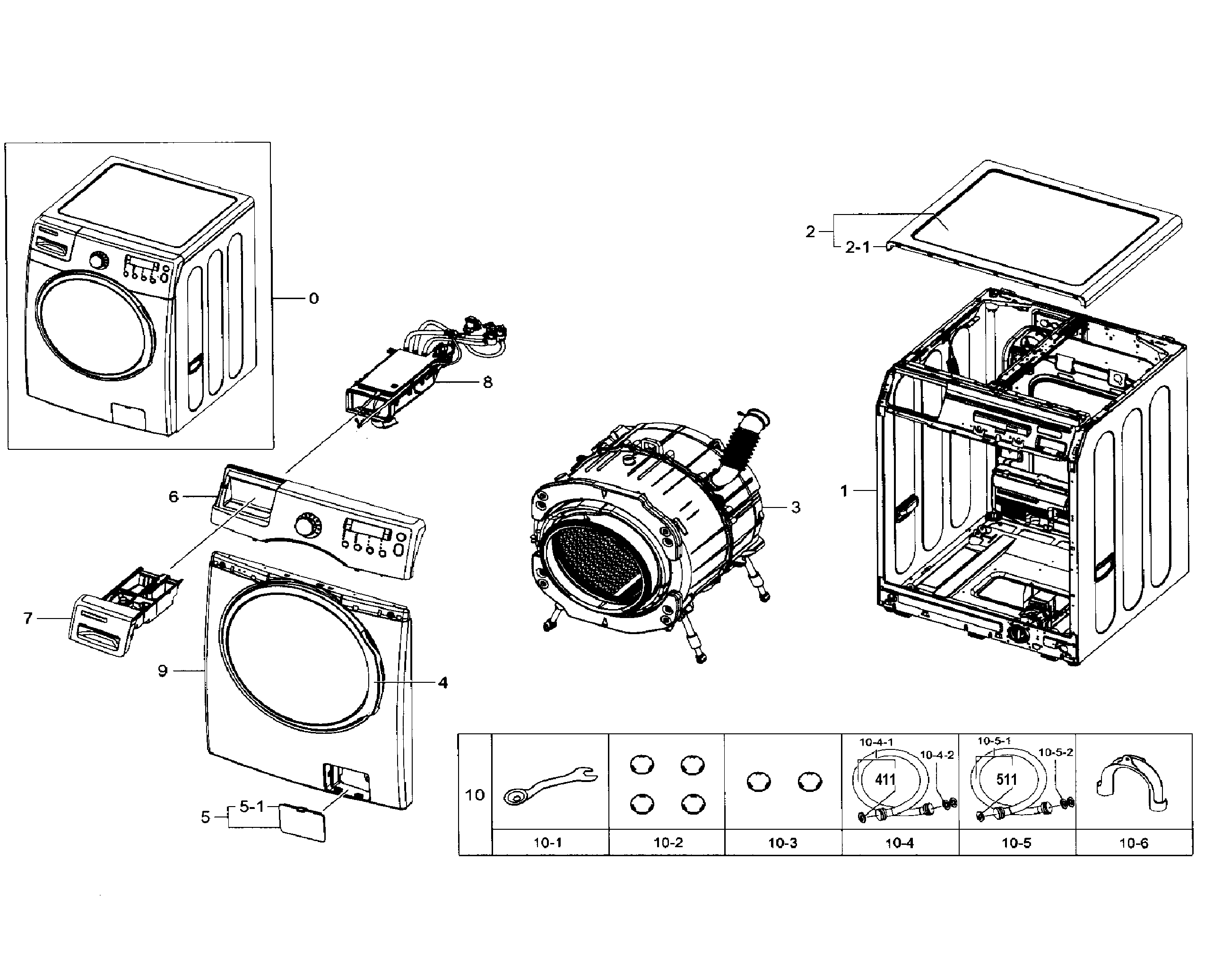 front load washer parts diagram evinrude 115 wiring samsung model wf330anbxaa0002 sears