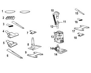 SHARK VACUUM Parts | Model nv356e | Sears PartsDirect