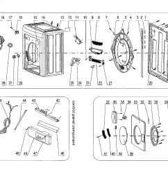 looking for haier model hlp141e cf05r0e0000 dryer repairhaier hlp141e cf05r0e0000 cabinet parts diagram [ 1695 x 1504 Pixel ]