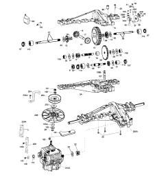 peerless model 2000 2000 022 transaxle transmission tractor genuine parts [ 2544 x 3300 Pixel ]