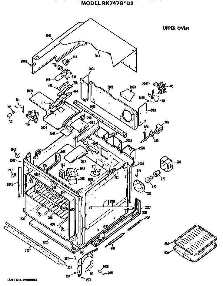 Ge Oven: Ge Oven Parts List