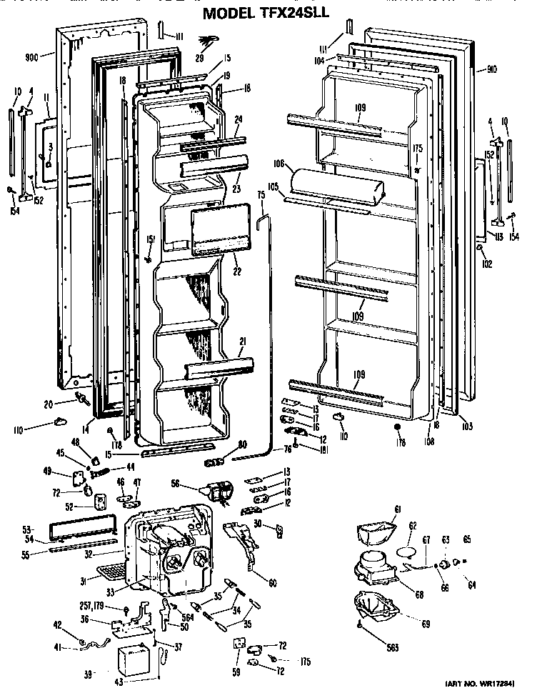 [DIAGRAM] Wiring Refrigerator Diagram Ge Pds20m FULL