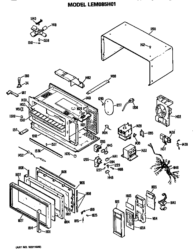 Rca Microwave Parts