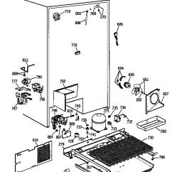 Ge Refrigerator Wiring Diagram Ez Go Electric Golf Cart C Searspartsdirect Com Lis Png Pldm E2133528 00007