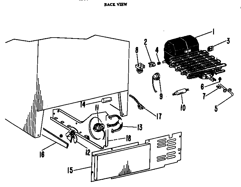 Refrigerators Parts: Hotpoint Refrigerator