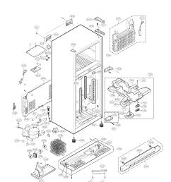 25316082108 kenmore freezer repair parts manuals [ 1700 x 2200 Pixel ]