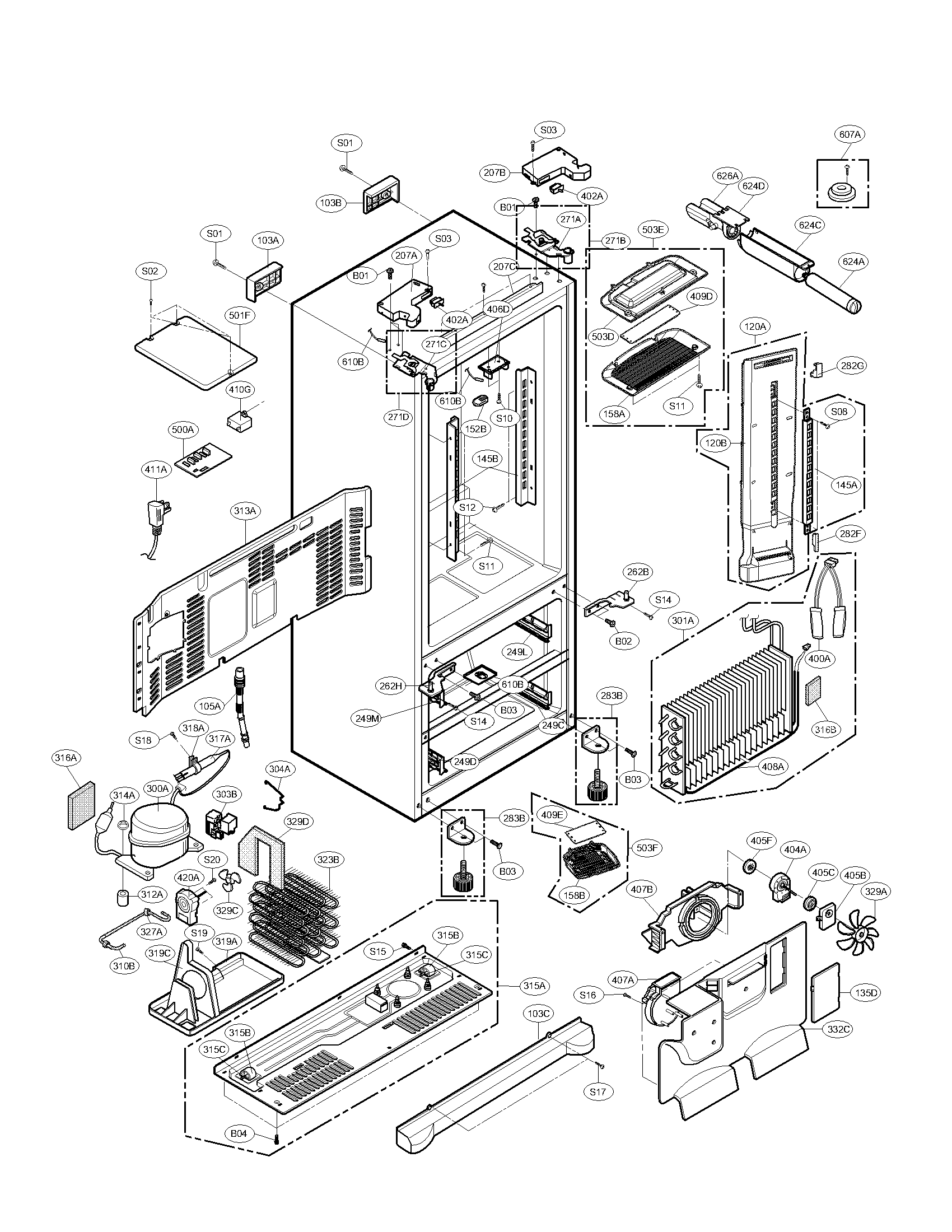 kenmore elite parts diagram 2005 ford f150 remote start wiring case and list for model 79578783802