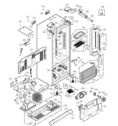 kenmore refrigerator schematic diagram wiring diagram general compressor wiring diagram kenmore refrigerator [ 1700 x 2200 Pixel ]