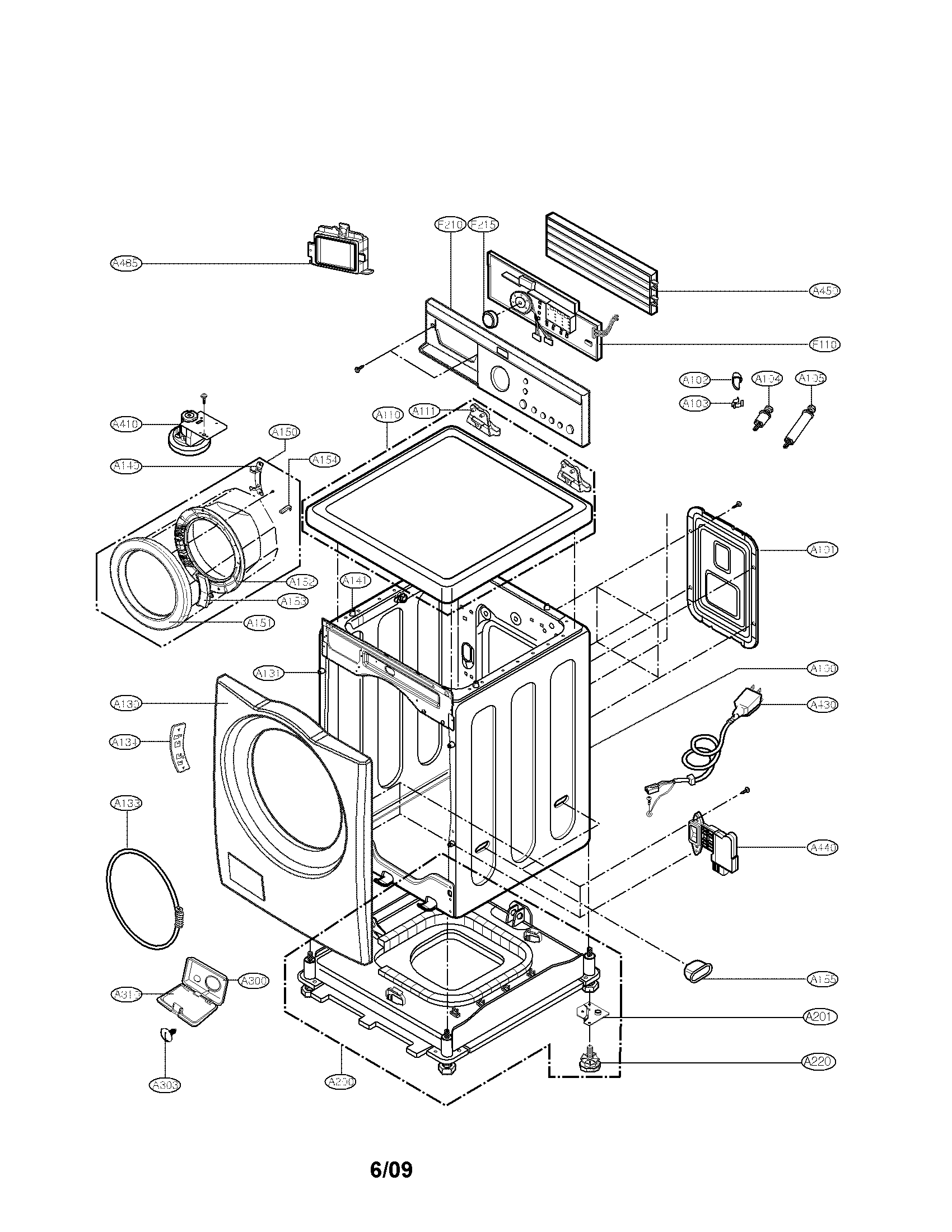 Repair Lg Washer Wm2487hrm Diagram