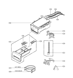lg wm2010cw dispenser parts diagram [ 1700 x 2200 Pixel ]